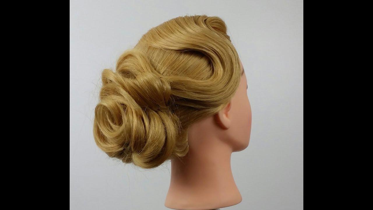 peinado en flor novia - bride