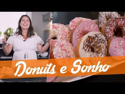 DONUTS E SONHOS RECHEADOS - Carol Fiorentino