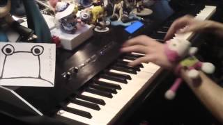 【ピアノ】 東方の曲をちょっとテンション高めにメドレーにしてみた thumbnail
