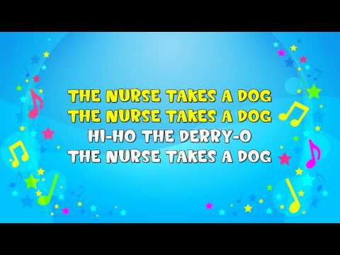 The Farmer In the Dell | Sing A Long | Nursery Rhyme | KiddieOK
