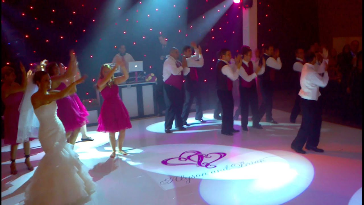 Best Wedding Party Dance Entrance Ever