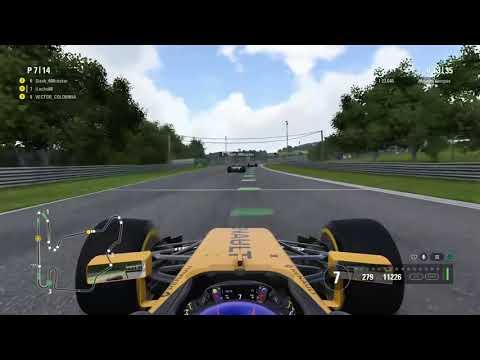 F1™ 2017 GP Hungría - Grupo 2 - LATAM Online Racing Colombia