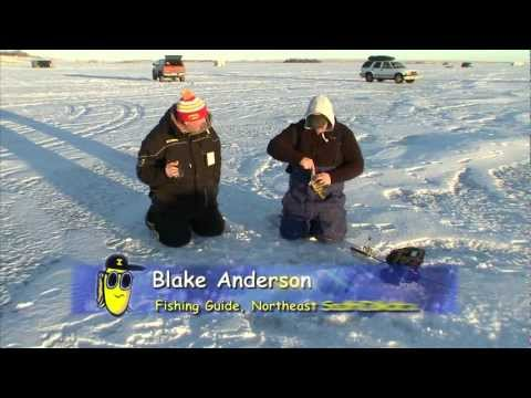 "Fishing the Midwest with Bob Jensen 2013: Episode 6 - ""Winter Perch in South Dakota"""