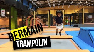 Bermain Trampolin Mainan Anak Indoor Playground