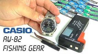 CASIO AW-82 Fishing Gear – годинник для рибалок