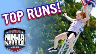 Download American Ninja Warrior Junior: Top CLOSEST Runs from Season 1 | Universal Kids Mp3 and Videos