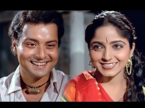 Nadiya Ke Paar Romantic Scene - Sachin Pilgaonkar