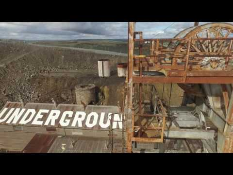 Drone footage around Broken Hill and Silverton NSW