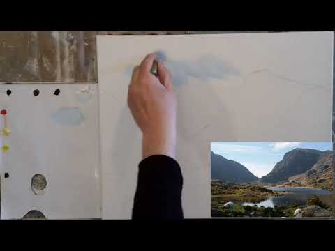 easy landscape painting #3