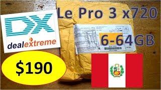 Compra (#1) de celular de alta gama en DealExtreme (DX) a $190 para Perú - Le Pro 3 x720 - 2018