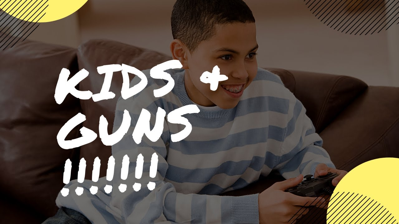 How to teach your kids about guns !!!!! (Ages 3-5)