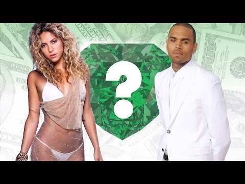 WHO'S RICHER? - Shakira or Chris Brown?...