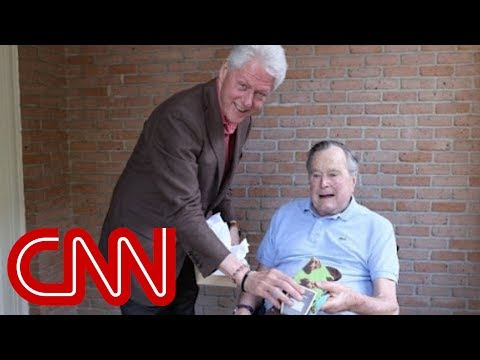 Bill Clinton's gift to George H.W. Bush