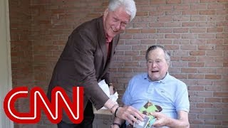 Bill Clinton's gift to George H.W. Bush