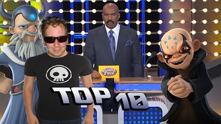 Top 10 Skylanders Imaginators is Amazing & Awesome! Family Feud Style