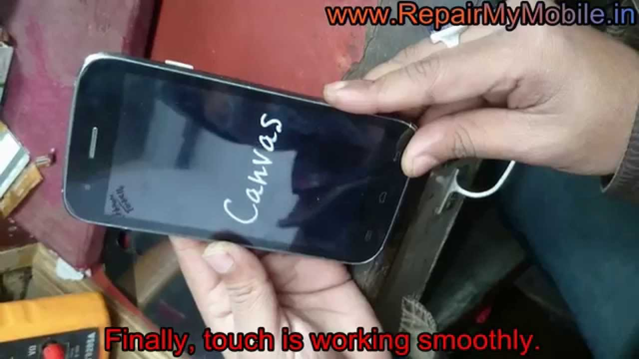 Touch Screen Change of Micromax Canvas A92 Lite