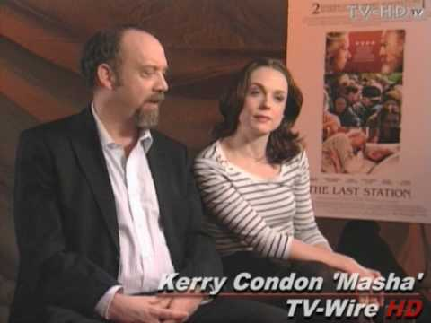 The Last Station  Exclusive s with Paul Giamatti & Kerry Condon