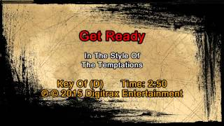 The Temptations - Get Ready (Backing Track)