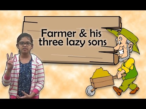 Story of a farmer and his three lazy sons - YouTube