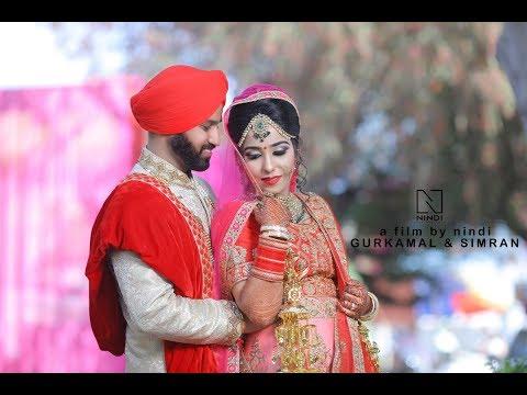 GURKAMAL & SIMRAN I  NEXT DAY EDIT I Best sikh wedding   Nindi Studios