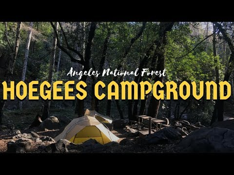 BACKPACKING ANGELES NATIONAL FOREST│HOEGEES CAMPGROUND│nixons