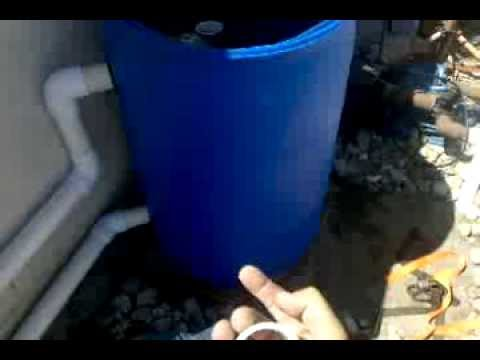 Diy best design for a koi pond filter complete youtube for Koi pond filter diy