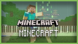 """How to play """"MINECRAFT"""" from Minecraft   Smart Game Piano   Video Game Music"""