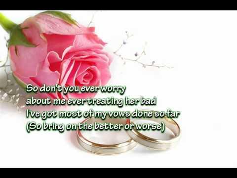 Marry Your Daughter lyrics Brian Mcknight Mp3