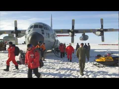 Antarctica: NZ's Final Flight for 2012/2013