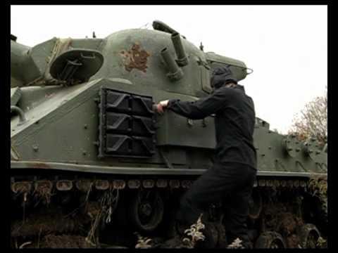 """Тест-драйв Танк M4 Sherman """"Шерман"""""""