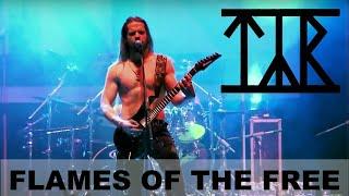 Смотреть клип Týr - Flames Of The Free