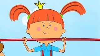 Песни из мультфильмов Жила была Царевна Не хочу проигрывать Веселые мультики для детей