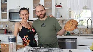 Первый Хлеб на Закваске От Арнака Королевский Завтрак Эгине Семейный Влог Heghineh Vlogs