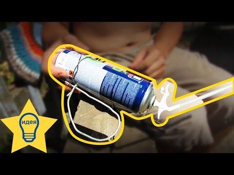 Как наносить монтажную пену на потолок