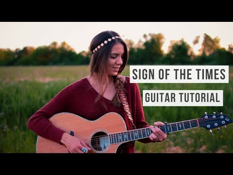 Sign of the Times - Harry Styles // Guitar Tutorial