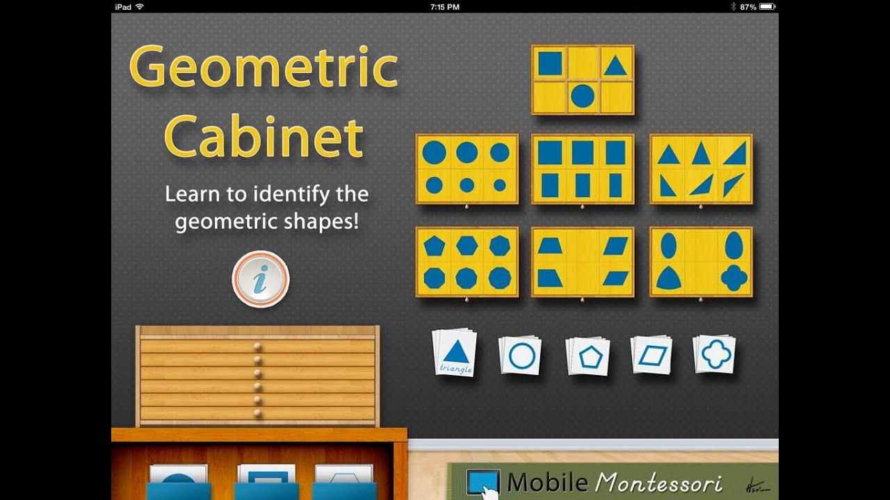 Geometric Cabinet - YouTube