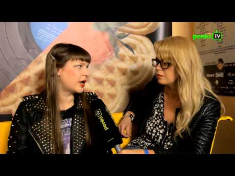 LOFTAS FEST 2013. Backstage interview uncut: Miss Kittin (FR)