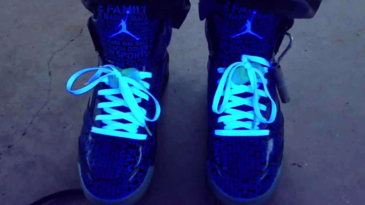 10dc2e9f694455 ... canada air jordan 5 v retro db doernbecher isaac arzate blacklight on  feet youtube 66d51 aca8e