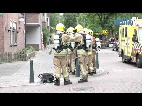 Zeer grote brand Jacob Catsstraat Rotterdam