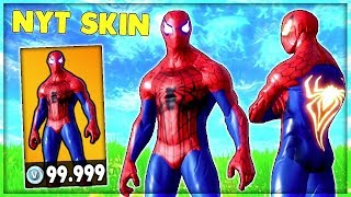 THE MOST EXPENSIVE SKIN IN FORTNITE (SPIDERMAN SKIN) | Danish Fortnite Highlights #228