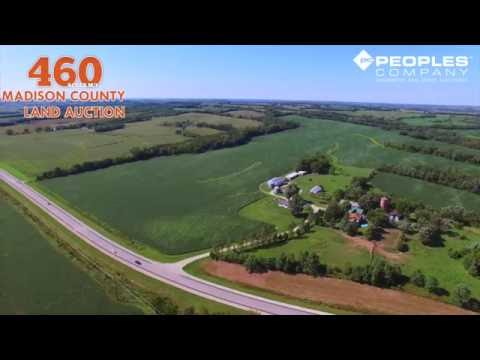 Productive Madison County, Iowa Farmland and Recreational Land Available At Public Auction