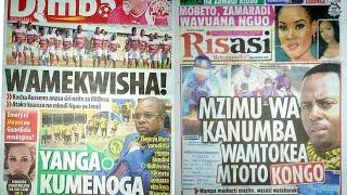 Yanga Kumenoga|Hamisa Mobetto na Zamaradi Mketema wakinukisha