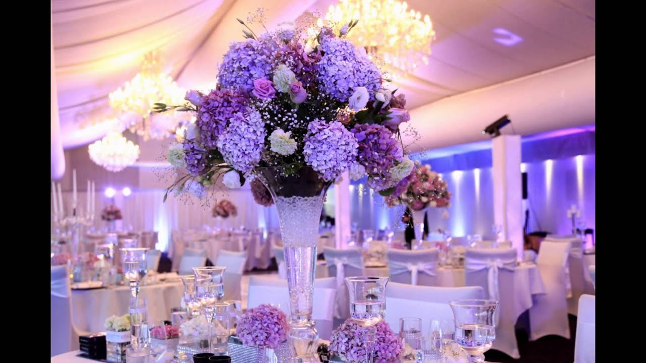 Arreglos florales para bodas decoraciones 2015 youtube for Decoracion de eventos