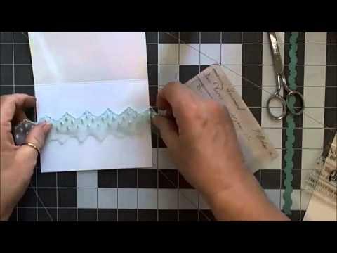 Card Making: Spellbinders Curved Border Cards