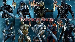 Warframe Fashion show In Obscuro Clan