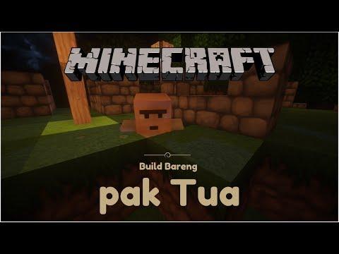 Menghiasi Rumah Penduduk Desa! - Build Bareng Pak Tua #2 Minecraft Indonesia