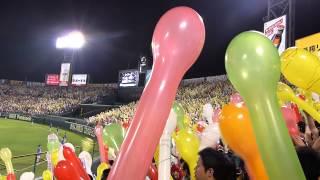 2014年マツダオールスターゲーム第2戦@阪神甲子園球場 7回裏オールセン...