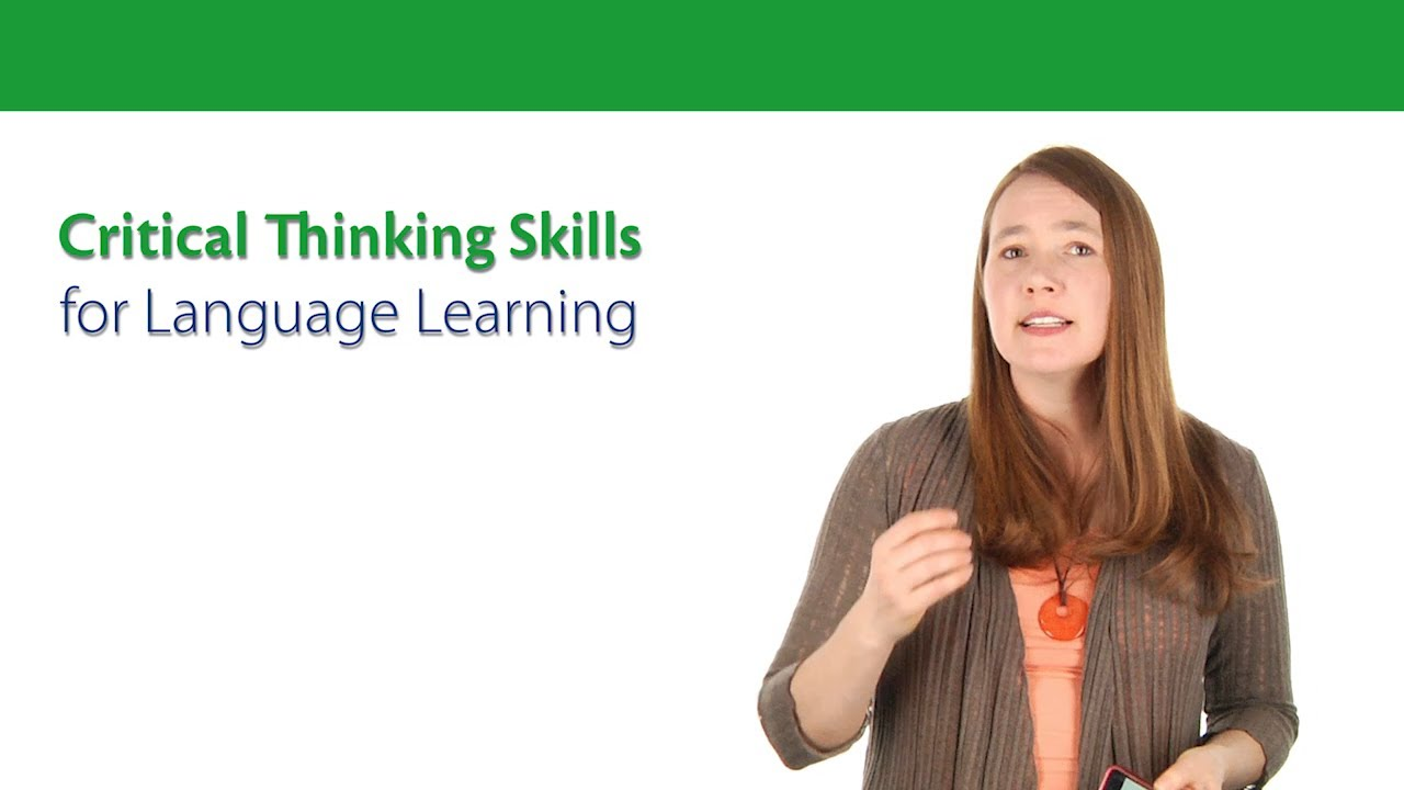 How to Encourage High Level Thinking   High level  School and     Critical Thinking