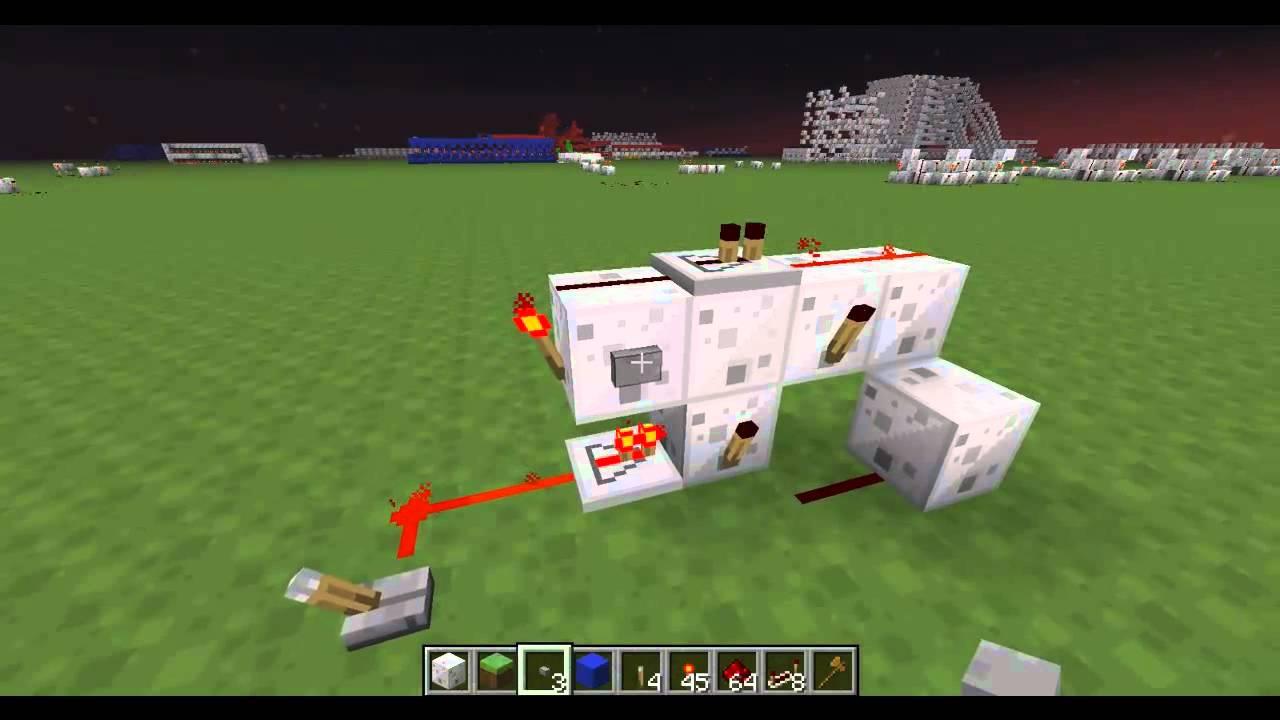 Jk Flip Flop Minecraft