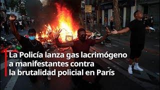 """Protestas en París por el movimiento """"Black Lives Matter"""""""